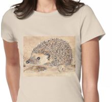 Hedgie, the African Hedgehog Womens Fitted T-Shirt