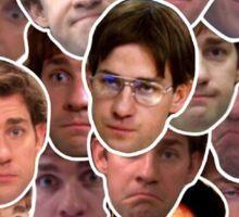 Jim Halpert Collage Sticker