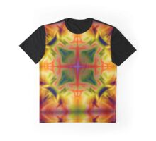 Soft drawing with colorful patterns in batik Graphic T-Shirt