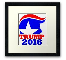 Trump 2016 Campaign Art Framed Print