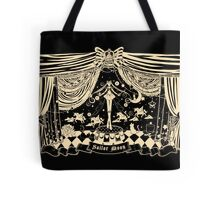 Moonlight Circus - Black Tote Bag