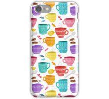 Coffee cups iPhone Case/Skin