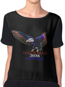 Hackman Lovely 2036 Chiffon Top
