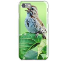 Sing A New Song iPhone Case/Skin