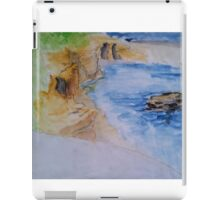 La Jolla Cove, Seal Rock and Children's Pool iPad Case/Skin