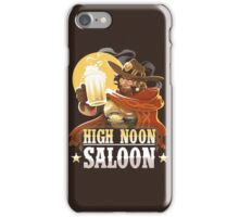 High Noon Saloon iPhone Case/Skin