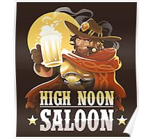 High Noon Saloon Poster