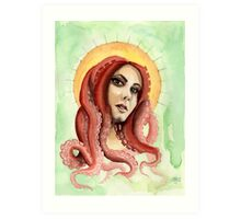 Mermaid 3 Art Print