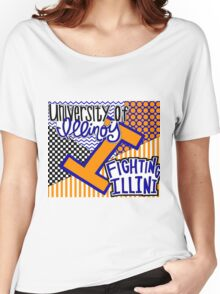 University of Illinois Urbana-Champaign Women's Relaxed Fit T-Shirt