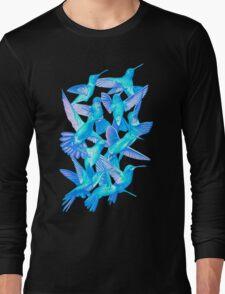 Hummingbird Dance in Sharpie (IceBird Edition) Long Sleeve T-Shirt