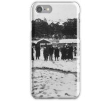Adelaide Hills (Snowing) iPhone Case/Skin