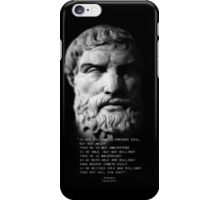 Epicurus iPhone iPhone Case/Skin
