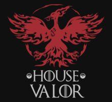 House Valor Mashup Team Logo (Dark) Kids Tee