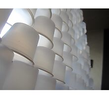Cup Stacking....the extreme kind Photographic Print