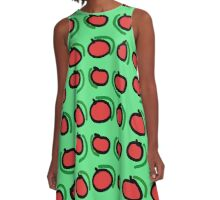 """""""Techno LXVIII (2015) (Apples)"""" by artcollect A-Line Dress"""