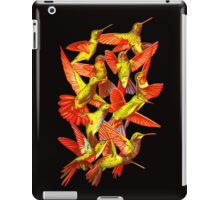 Hummingbird Dance in Sharpie (FireBird Edition) iPad Case/Skin