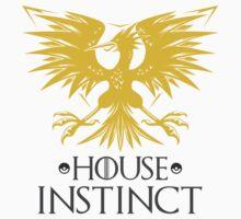 House Instinct Mashup Team Logo Kids Tee