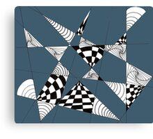 Geometric Openings Canvas Print