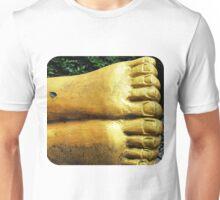 Leaf on a Foot  Unisex T-Shirt