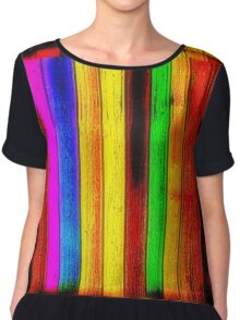 Painted Boards Chiffon Top