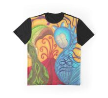 Under the Organic Volcano Graphic T-Shirt