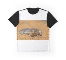 The Shingle back AKA Bobtail Lizard Graphic T-Shirt