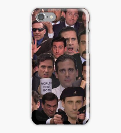 Michael Scott Collage iPhone Case/Skin