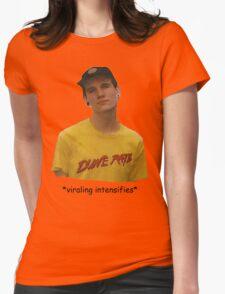 *viraling intensifies* Womens Fitted T-Shirt