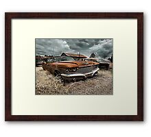 Abandoned 1960 Imperial Framed Print