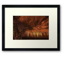 Gold doesn't grow on trees Framed Print