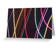 Stringy Lights....but not quite Greeting Card