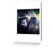 GORILLA Greeting Card