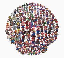 Mario Mushroom by Rob Delz