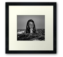 Self-destruction Framed Print
