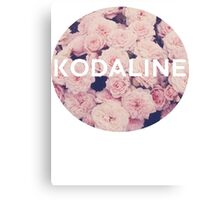 Kodaline Rose Circle Canvas Print