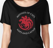 Naps et Catnip Women's Relaxed Fit T-Shirt