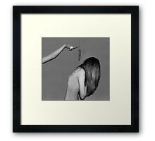 Back Stabber Framed Print