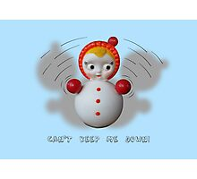 Can't Keep Me Down!  Roly-poly doll as Symbol of Resilience Photographic Print