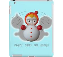 Can't Keep Me Down!  Roly-poly doll as Symbol of Resilience iPad Case/Skin
