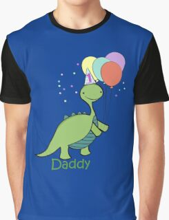 Baby Dinosaur Daddy Graphic T-Shirt