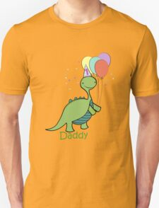 Baby Dinosaur Daddy Unisex T-Shirt