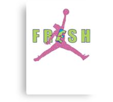 Fresh Prince Jump Man Canvas Print
