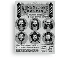 Vintage Barbershop Canvas Print