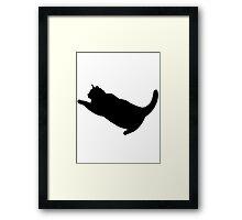Fat Cat Puma Framed Print