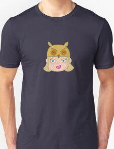 Kids With Animal Beanie - Owl Unisex T-Shirt