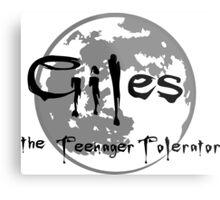 Giles the Teenager Tolerator Metal Print