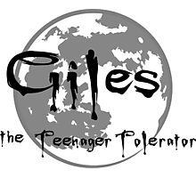 Giles the Teenager Tolerator Photographic Print