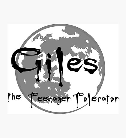 Giles the Teenager Tolerator Photographic Print