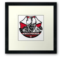 Program Framed Print