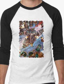 Tardis Battle Men's Baseball ¾ T-Shirt
